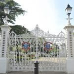 Vivary Park Gates opp Acorn Solicitors