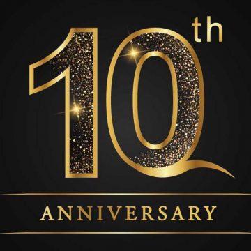Acorns 10th Anniversary