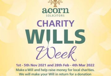 Acorn solicitors Charity Will Week